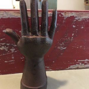 Vintage Accents - Cast Iron Hand Display